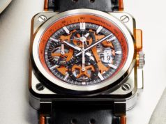 BELL & ROSS BR03-94 AEROGT ORANGE