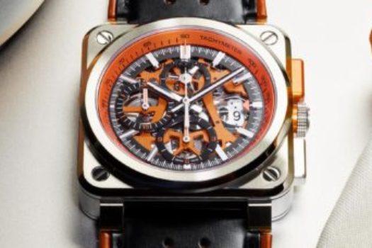 Nuovo Bell&Ross BR03-94 AeroGT Orange
