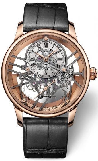 Orologio bello: Jaquet Droz Grande Seconde Skelet-One Red Gold Sapphire