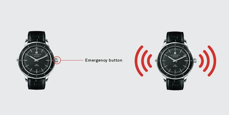 orologio con GPS Limmex Emergency