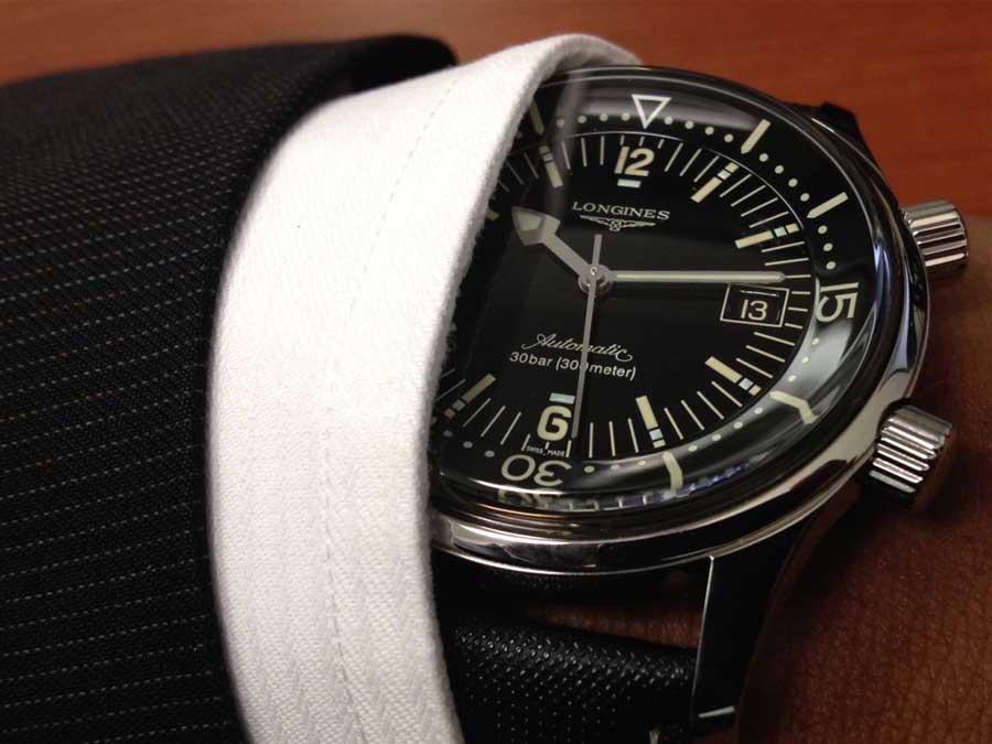 Recensione dell'orologio Longines Legend diver
