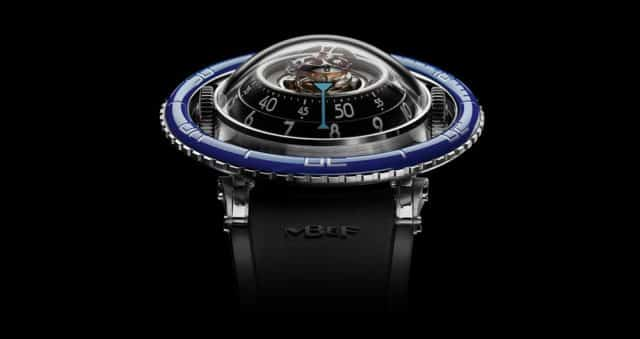 orologi innovativi: MB&F Horological Machine N°7 Aquapod