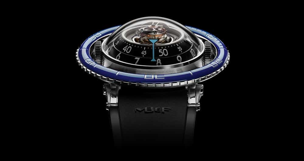 orologi innovativi: MB&F Horological Machine N°7 Aquapod