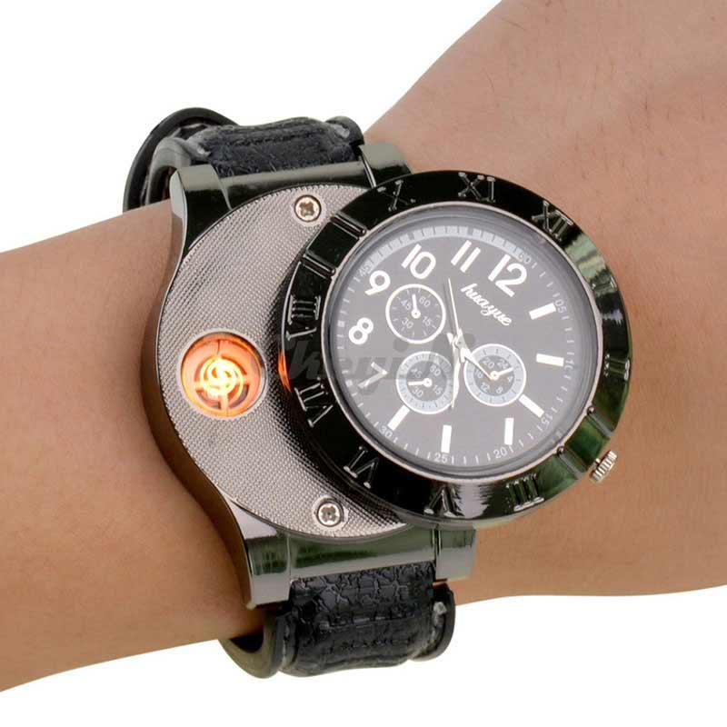 orologio con accendino