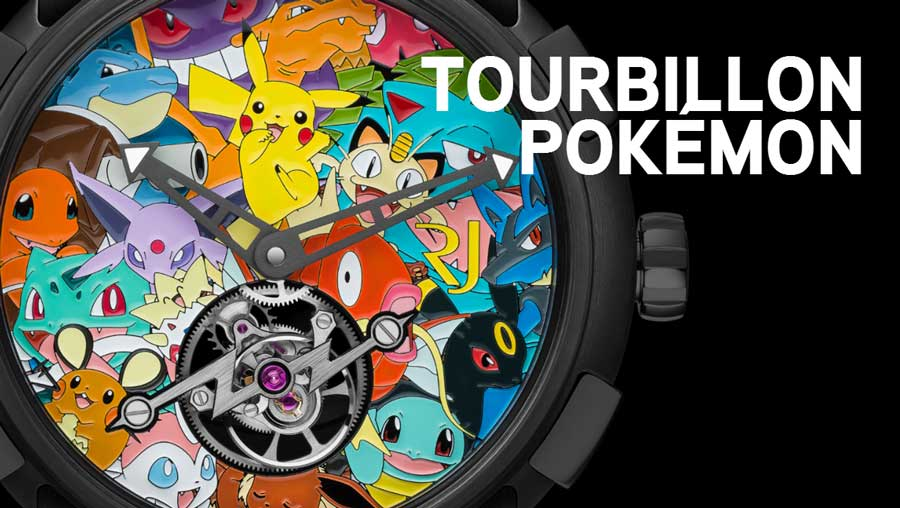 orologio da polso Tourbillon Pokemon