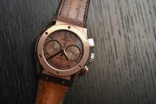 Hublot Classic Fusion Berluti: le caratteristiche dell'orologio in serie limitata