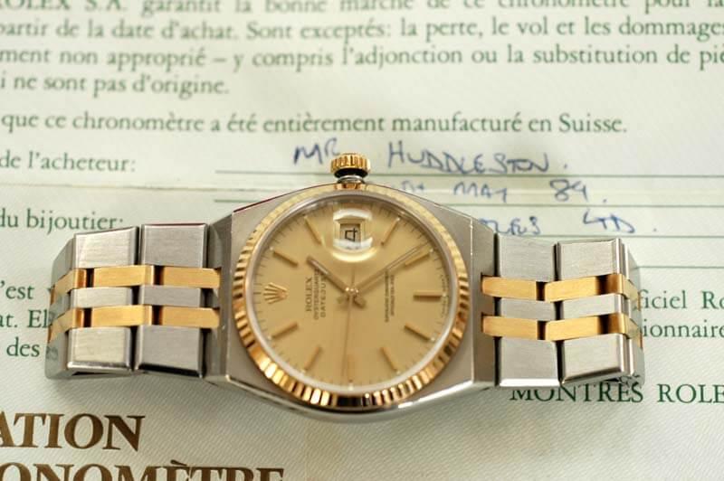 Rolex oysterquartz 17013 (Acciao e oro)