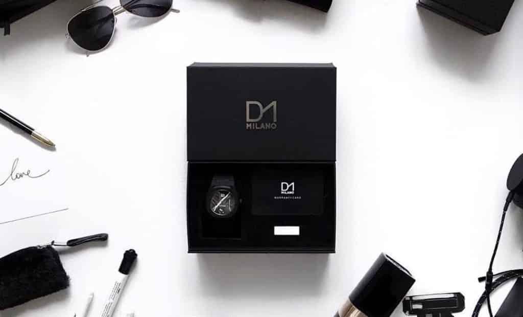 scatola nera dell'orologio D1 Milano