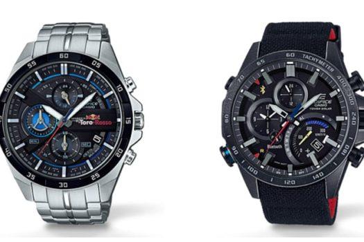 Casio Edifice Toro Rosso: un cronografo da formula uno