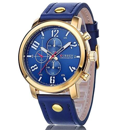 orologi uomo curren blue