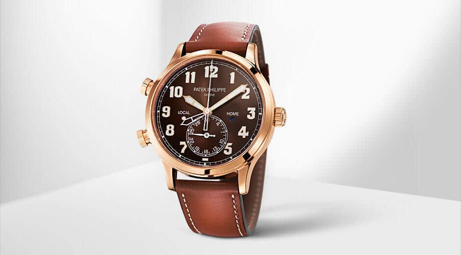 Patek Philippe - Calatrava Pilot Travel Time in Rose Gold |