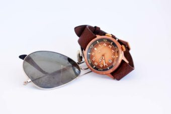SCURO Bronzo Pilot Watch
