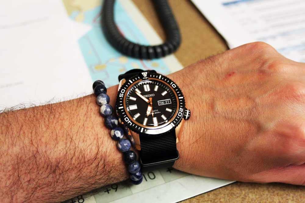 Recesnione Seiko 5 Diver's SKZ330
