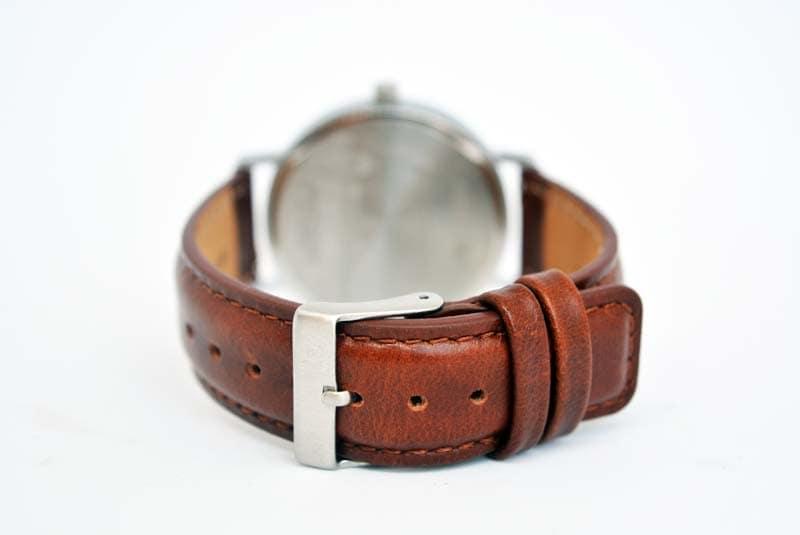 cinturino largo 18 mm in pelle