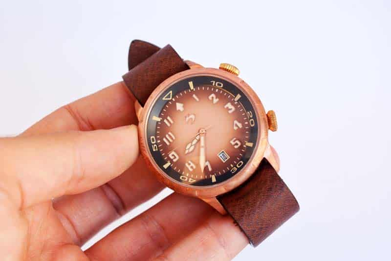 test SCURO Bronzo Pilot Watch