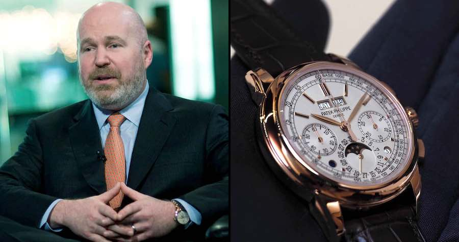 Clifford Asness con indosso Patek Philippe Perpetual