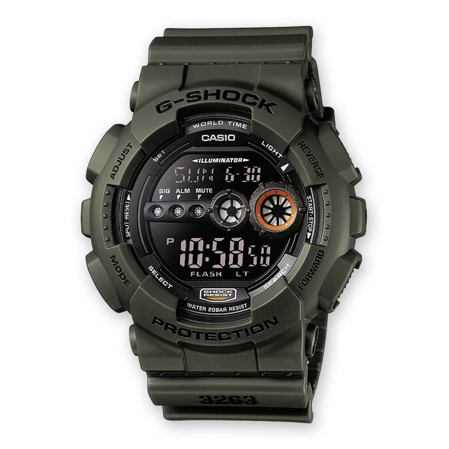 casio g shock militare