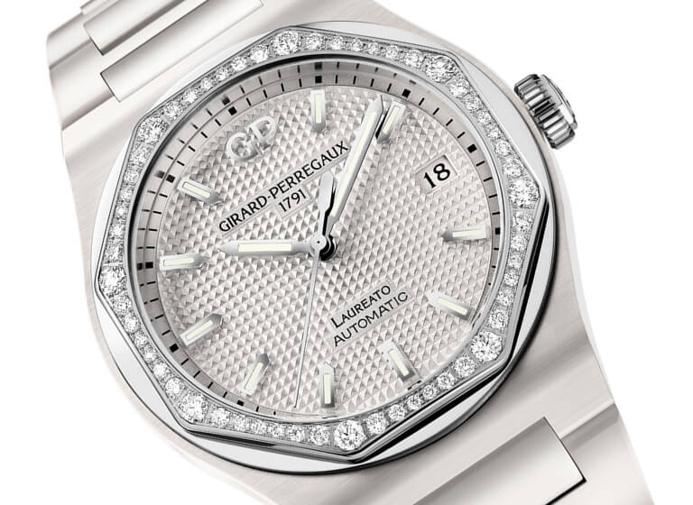 Girard Perregaux Laureato 38mm White Ceramic