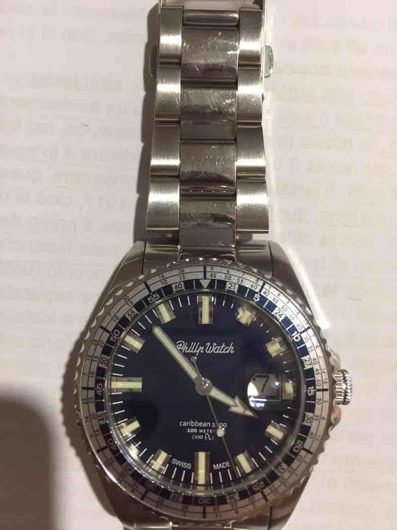 orologio da uomo Philip Watch Caribbean 1000 ref. R8253107003