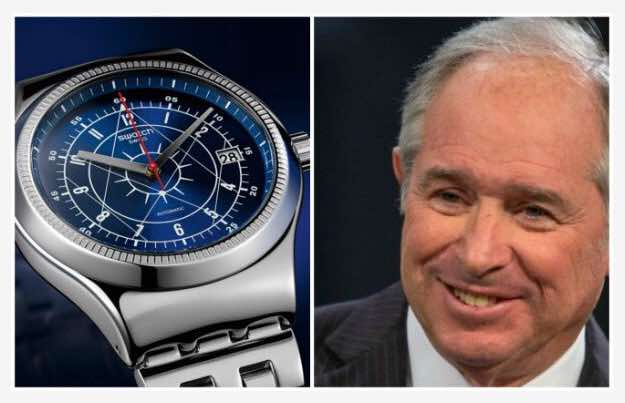 Stephen Schwarzman watch