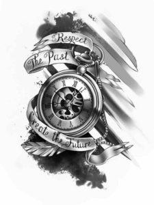 orologio da tasca tattoo significato