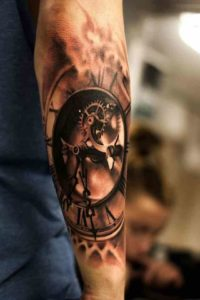 tattoo orologio