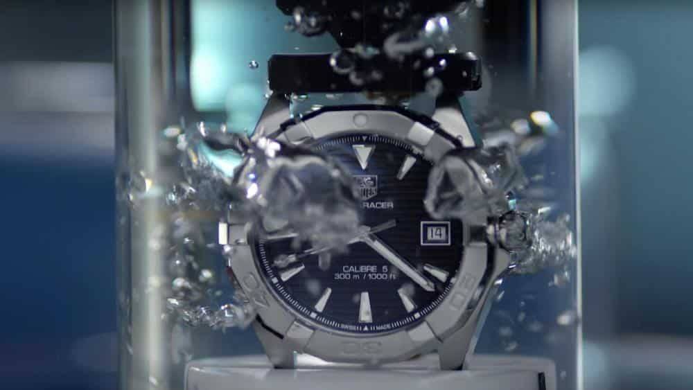 Water Resistant - Subacqueo significato