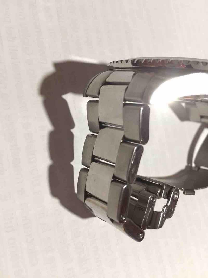 bracciale in acciaio lucido Philip Watch Caribbean 1000