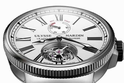 Ulysse Nardin Marine Tourbillon 1283-181/E0: orologio subacqueo