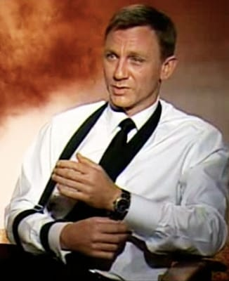 Rolex Submariner 6538 al polso di Daniel Craig