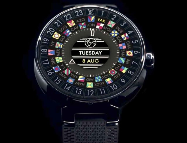 Smartwatch Louis Vuitton Tambour Horizon