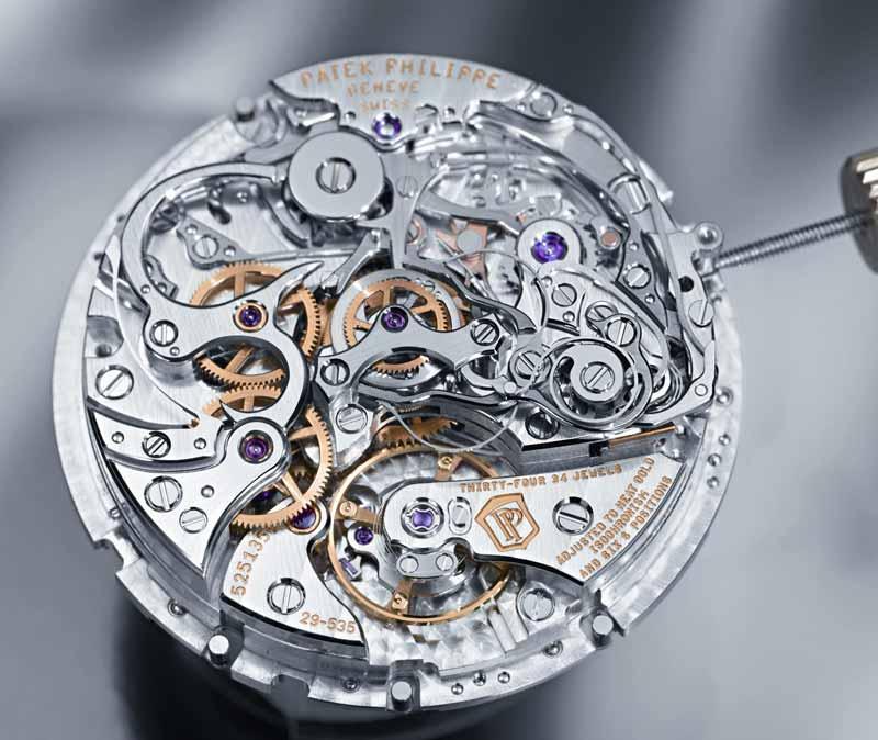 meccanismo orologio meccanico