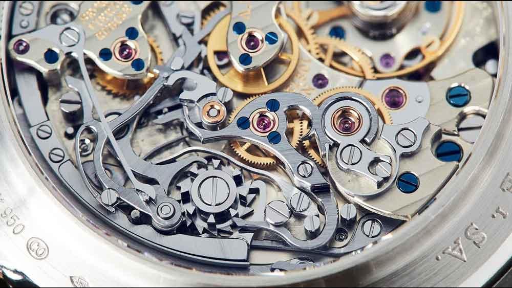 come funziona un orologio meccanico