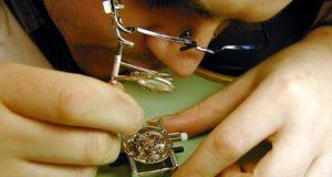 Lubrificazione degli orologi