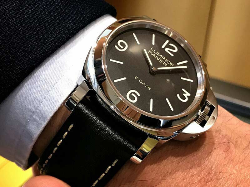 Panerai Luminor 8 Days Acciaio 44mm PAM00560