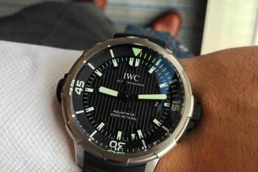 IWC Aquatimer 2000 il modello, le caratteristiche e il prezzo