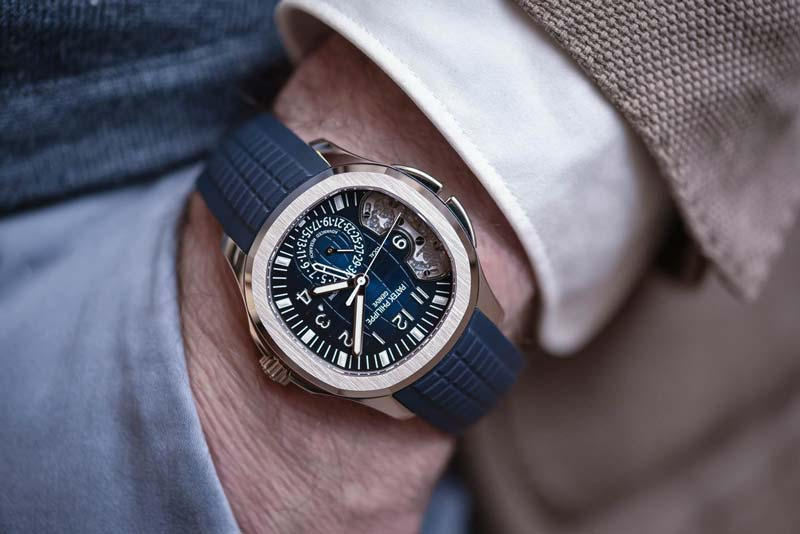 Aquanaut Travel Time Ref. 5650G