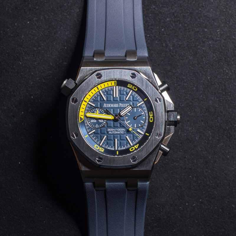 Audemars Piguet Royal Oak 26703ST Offshore Diver Chronograph.