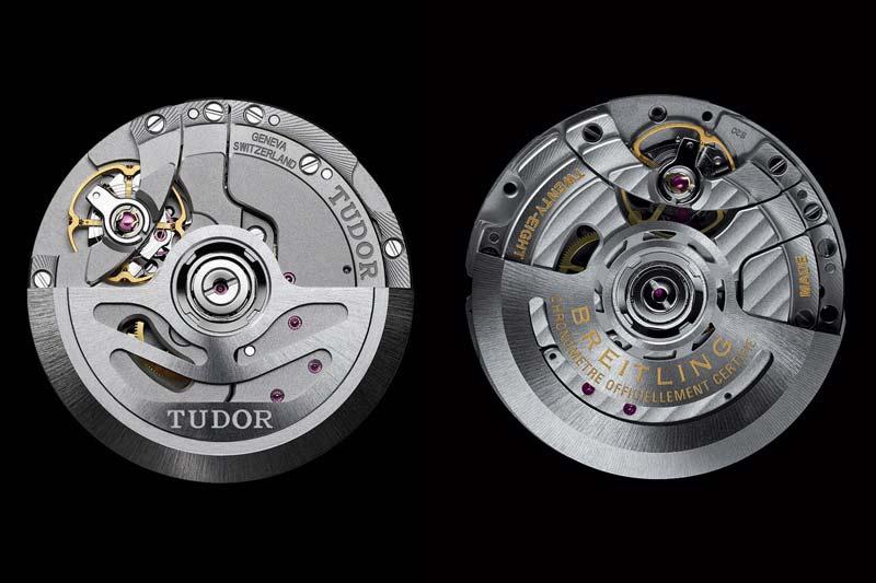 Il movimento a carica automatica B20 deriva dal calibro MT5612 di Tudor. È