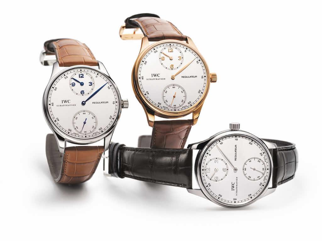 orologio regolatore iwc