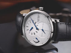 Un orologio regolatore di Louis Erard, l'Excellence Regulator Automatique.