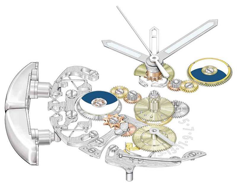 Patek Philippe Advanced Research Aquanaut Travel Time Ref. 5650G