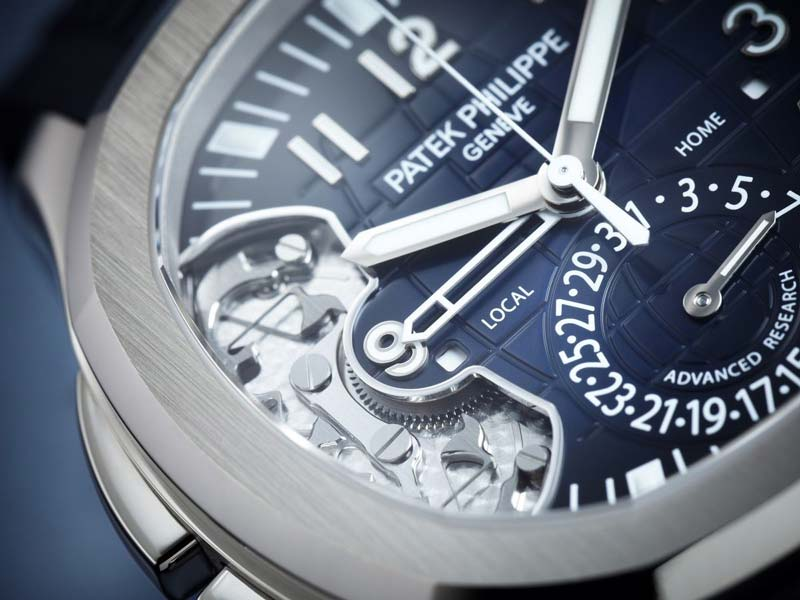 "Patek Philippe Aquanaut Travel Time Ref. 5650G ""Advanced Research"""