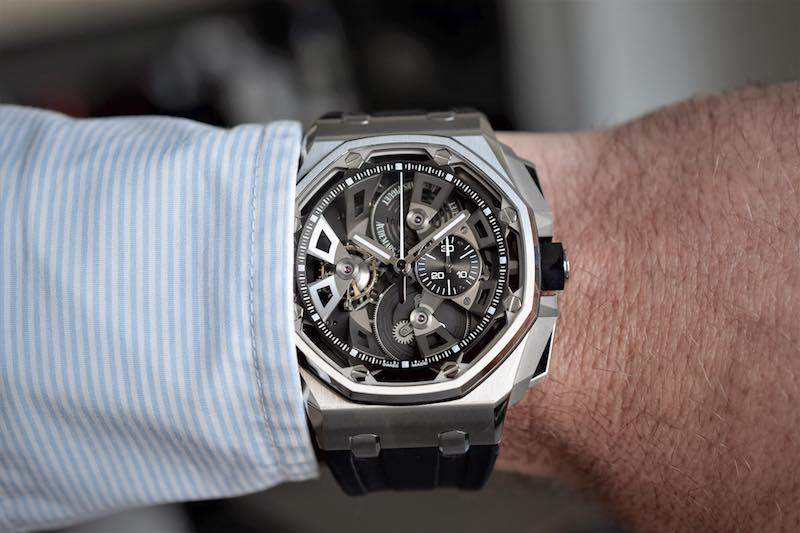 Audemars Piguet Royal Oak Offshore Tourbillon Chronograph 25th anniversary 26421 SIHH 2018