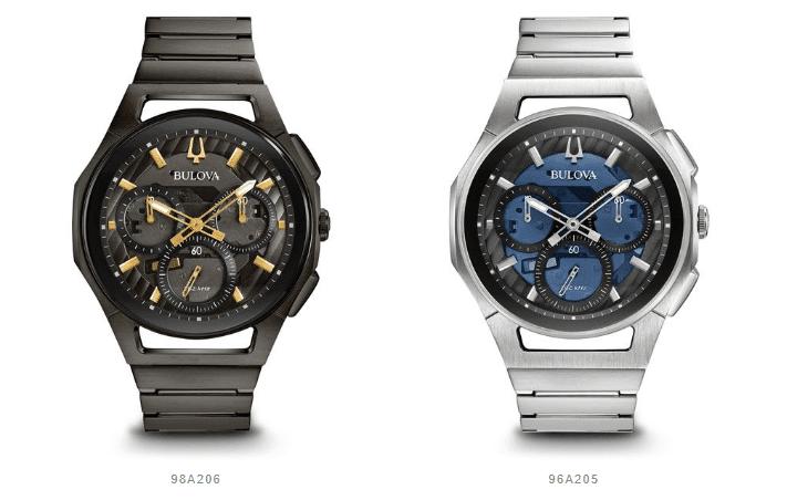 nuovi orologi Bulova Progressive CURV