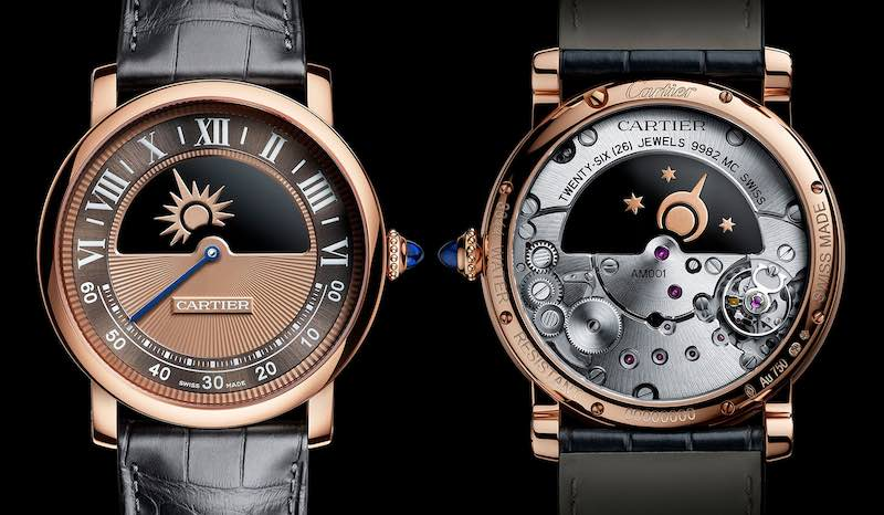 orologio CARTIER: ROTONDE DE CARTIER MYSTERIOUS DAY & NIGHT WATCH