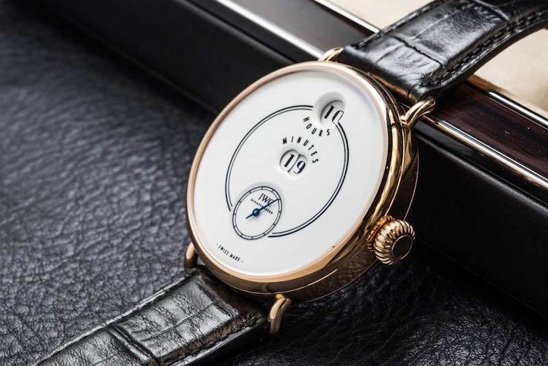 "IWC TRIBUTE TO PALLWEBER EDITION ""150 YEARS"" in oro 18 Cat."