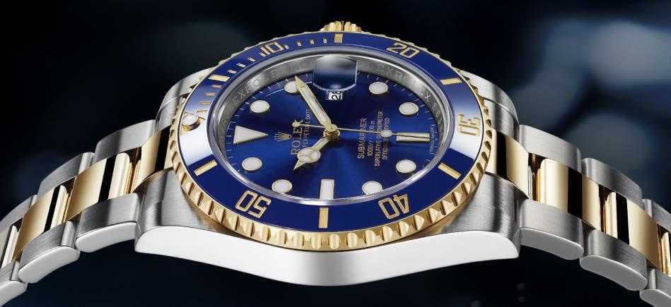 Rolex Submariner Blu