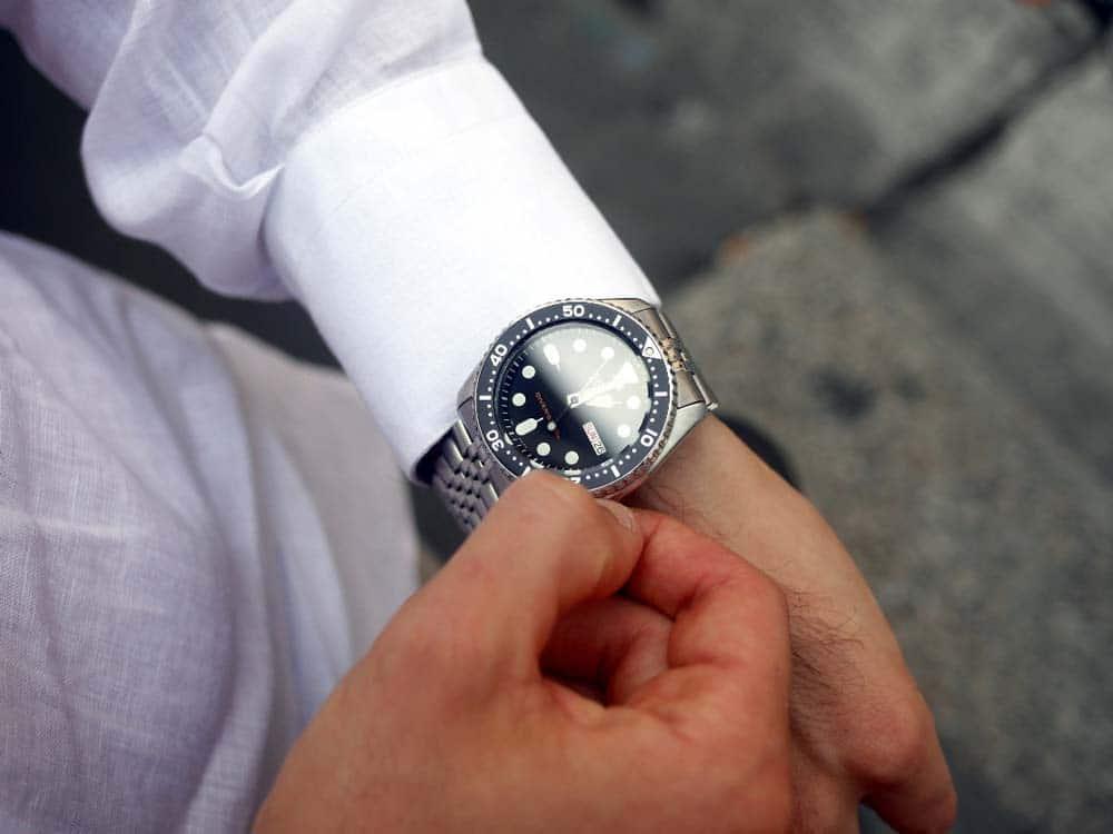 Orologio da uomo Seiko SKX007K2 Analogico