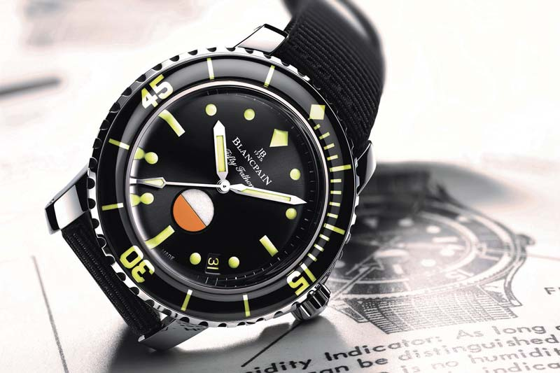 Recensione del Blancpain Tribute to Fifty Fathoms MIL-SPEC